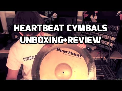 Heartbeat Cymbals - Robert Harris - (Unboxing / Demo)