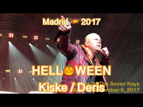 Helloween - Keeper Of The Seven Keys - Pumpkins United - Madrid WiZink Center 2017 12 09 LIVE 4K