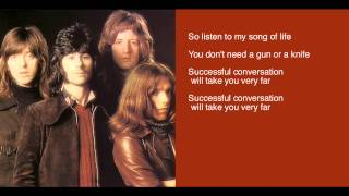 Badfinger  - Perfection - lyrics - Straight Up LP