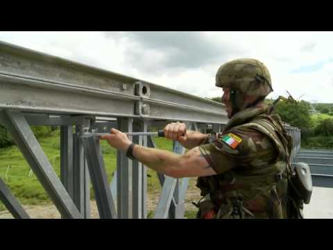 Irish Army Defence Force Exercises