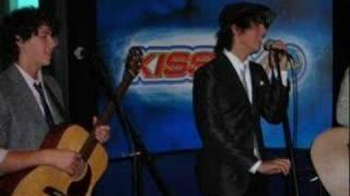 Jonas Brothers- Year 3000 live on Arizona Kiss FM
