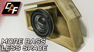 STACK Subwoofer Box Layered - How to - CarAudioFabrication