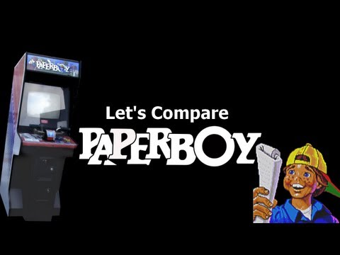 Let's Compare ( Paperboy ) REMAKE