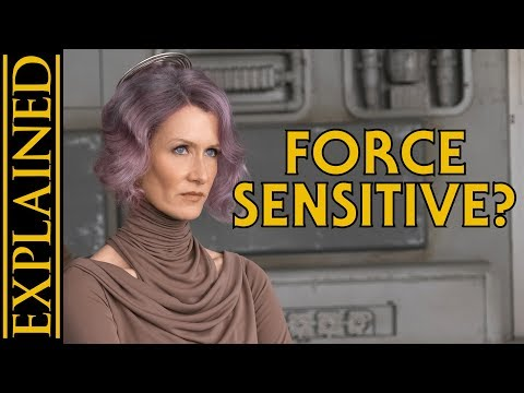 Is Admiral Holdo Force Sensitive? Is Everyone? - From a Certain Point of View