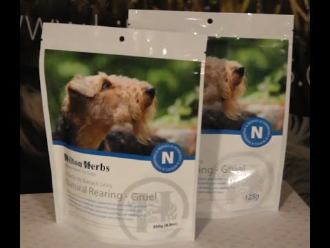 Natural Rearing Gruel - Herbal Supplement for Dogs - Product Description