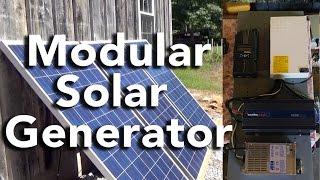 Our New Modular Solar Generator!