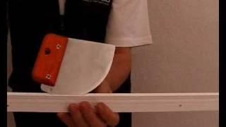 Монтаж натяжного потолка в Германии(Обучающий ролик по натяжке потолка бесшовного. Действие происходит в Германии., 2009-12-24T10:08:03.000Z)