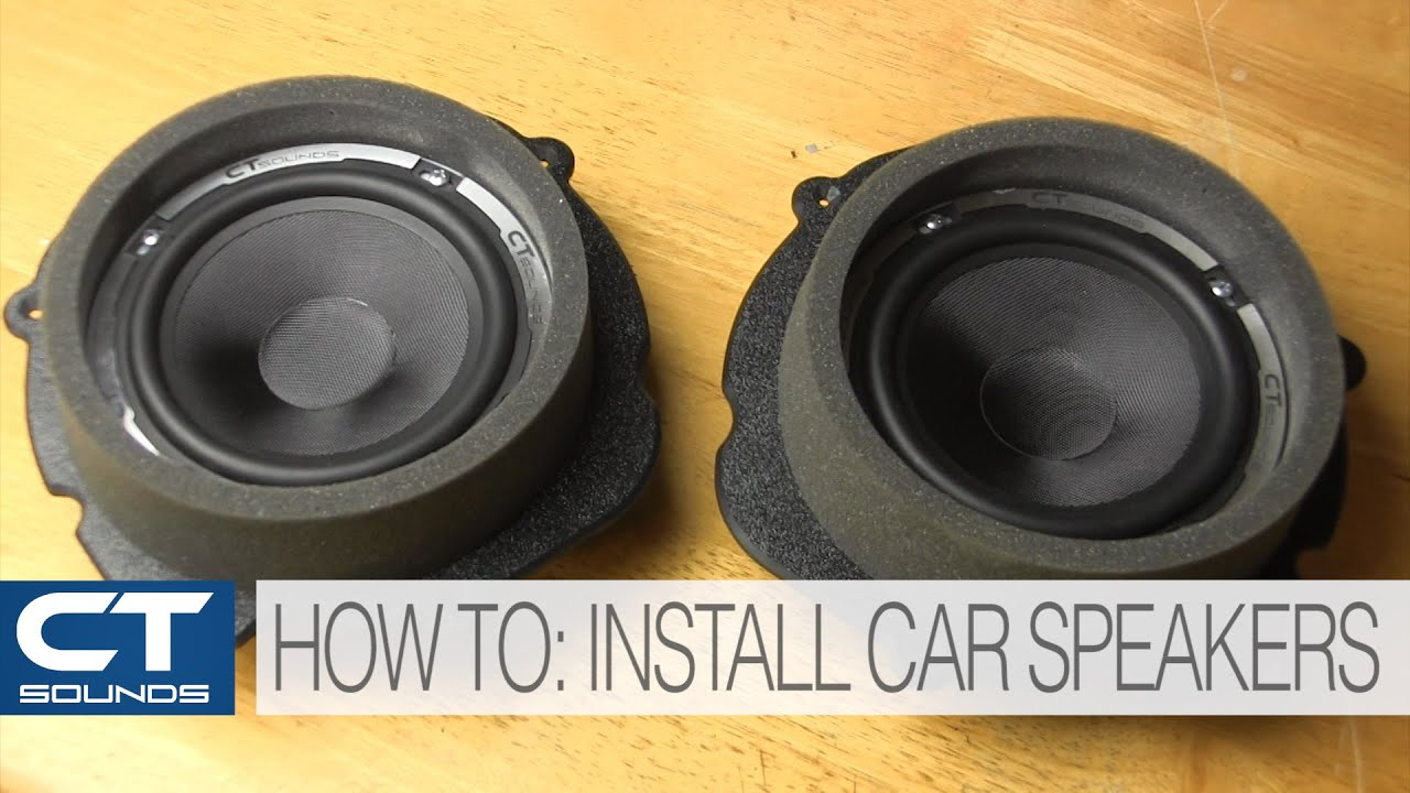 ct sounds how to install car door speakers youtube. Black Bedroom Furniture Sets. Home Design Ideas