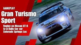 Gran Turismo Sport - Replay en Nissan GT-R Gr.B Rally Car sur Colorado Springs Lac