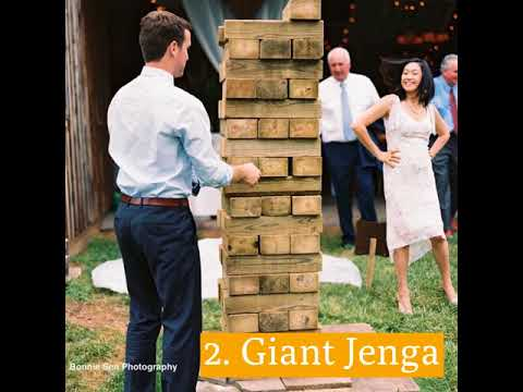 The Best Yard Games For Your Wedding