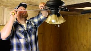 How to Straighten Drooping Ceiling Fan Blades : Ceiling Fan Maintenance