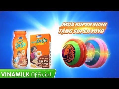Quảng cáo Vinamilk cho bé mới nhất – Mua Super Susu tặng ngay Super YoYo