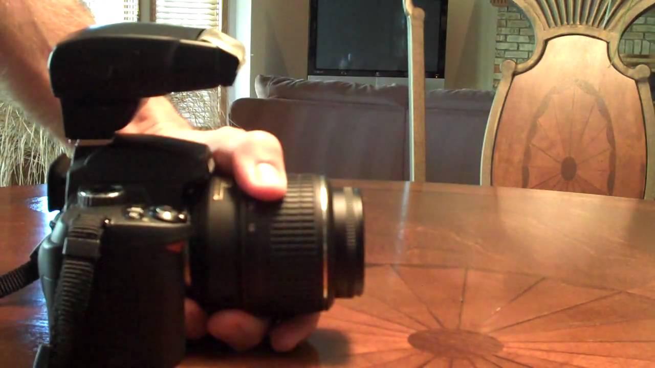 Nikon SB 400 Speedlight Demo - YouTube