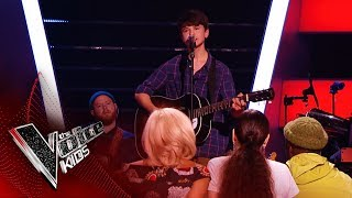 Sam Performs His Original Song 'Everything's Alright' | Blind Auditions | The Voice Kids UK 2019