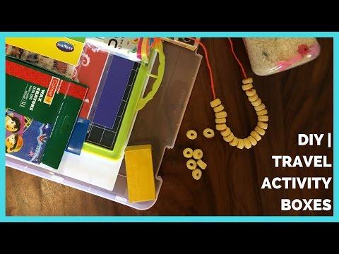 DIY | Travel Activity Boxes