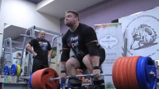 Кшиштоф Радзиковский - 400 кг становая тяга