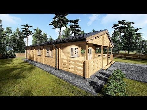 Model 18 Log Cabin
