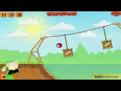 Игровой мультик - Красный Шар. Red Ball 3 Шарляндия  Поиски любимой  Полное прохождение. Все серии