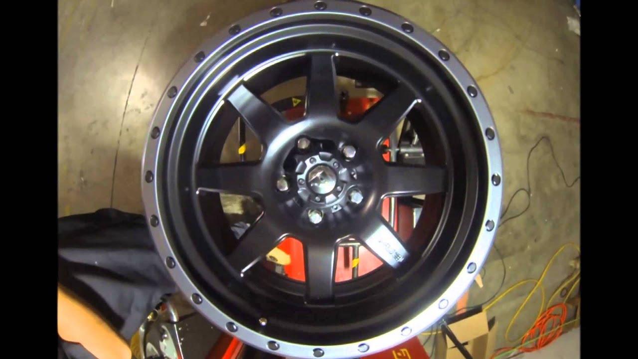 Fuel Jeep Wheels >> Fuel Offroad Wheels D105 Trophy Black - YouTube