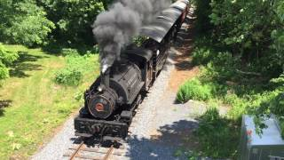 WSRR Steam at Fountain Rock Road
