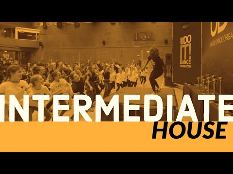 Intermediate House With Matthew Schofield - Learn Street Dance With UDOIT Dance Foundation