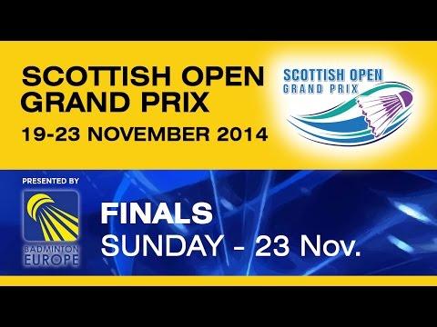 Final - MD - M.CHRISTIANSEN / D.DAUGAARD vs R.BECK / A.HEINZ - Scottish Open Grand Prix 2014