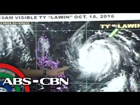 News Now: 'Lawin' speeds closer to Luzon; several provinces under storm signal