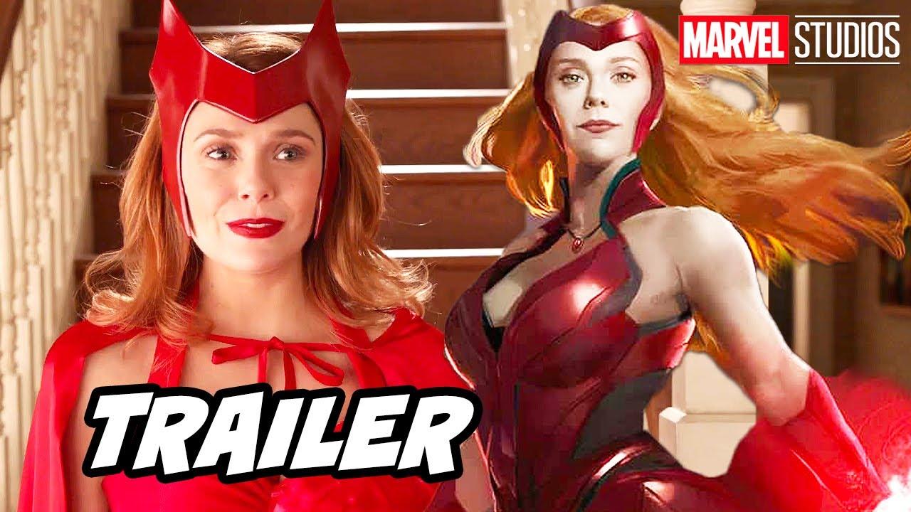 Avengers Wandavision Trailer - Marvel Phase 4 X-Men Easter Eggs Breakdown