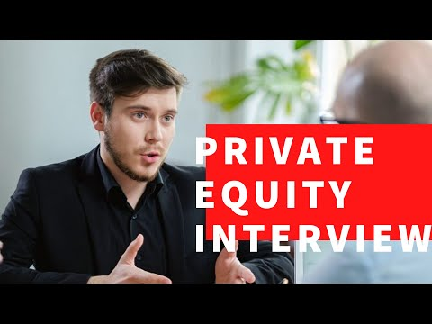 Private Equity Interview Questions and Answers