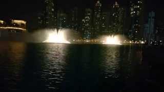 Dubai Mall Fountains [Lumia1520 4K]
