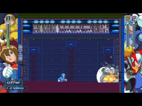 X Challenge 1-2 [No Special Weapons] - Mega Man X Legacy Collection
