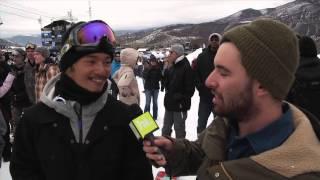 2013 Winter X Games Interview With Kazu Kokobu - TransWorld SNOWboarding