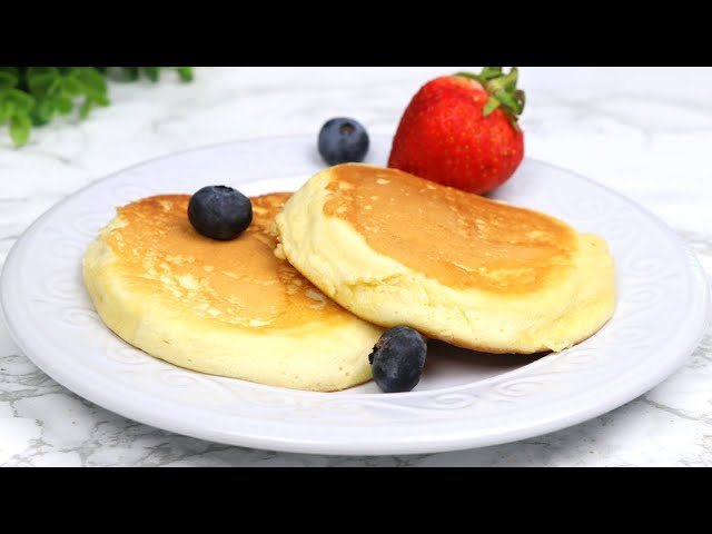 ১ টা ডিম দিয়ে তুলতুলে জাপানিজ প্যানকেক | Souffle pancake with one egg | Fluffy Japanese pancake