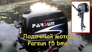 Лодочный мотор Parsun f5 bms #деломастерабоится