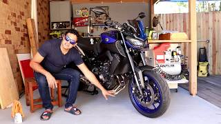 YAMAHA Cheap exhaust . Delkevic full exhaust review