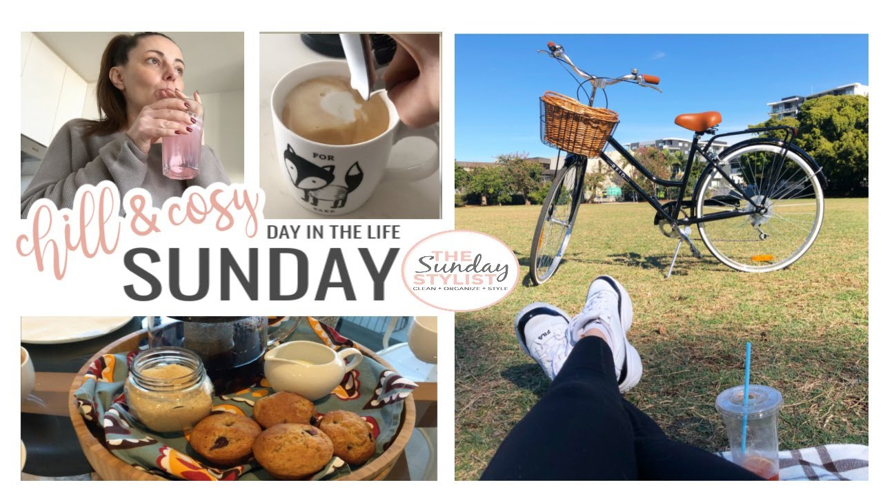 CHILL & COSY SUNDAY ROUTINE - DAY IN THE LIFE || THE SUNDAY STYLIST
