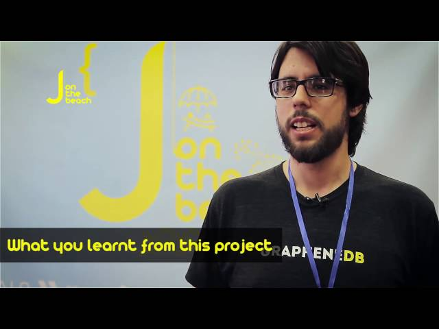 Francisco Fernández from GrapheneDB interview- JOTB16