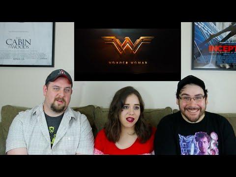 Wonder Woman - Comic-Con Trailer Reaction