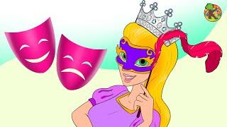 ربانزل الممثلة | الحلقة 4 ( Rapunzel )  مغامرات ربانزل KONDOSAN قصة رسوم متحركة  فيلم كرتون