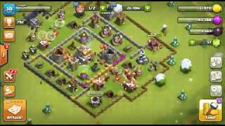 How to not have a town hall in clash of clans