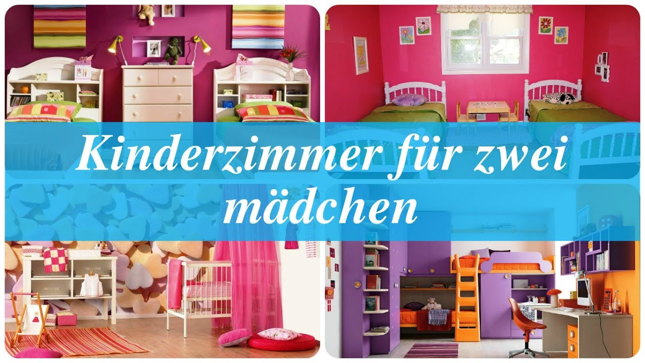 kinderzimmer f r zwei m dchen youtube. Black Bedroom Furniture Sets. Home Design Ideas