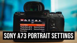 2020 SonyA7iii CAMERA SETTINGS for Portraits screenshot 3