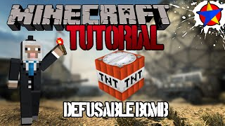 Defusable Bomb ► Minecraft Tutorial for Search and Destroy (Xbox/PC/Playstation)