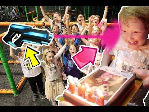 ESMÉS LASER TAG BIRTHDAY PARTY!!