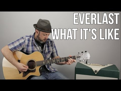 Everlast - What It's Like - Guitar Lesson, Easy Acoustic Songs For Guitar