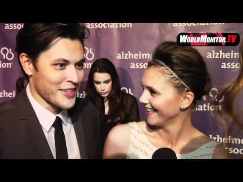 Blair Redford and Alexandra Chando ed at 20th Anniversary Alzheimer's event