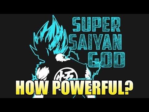 How Powerful is Goku? (Super Saiyan God/Super Saiyan Blue Edition)