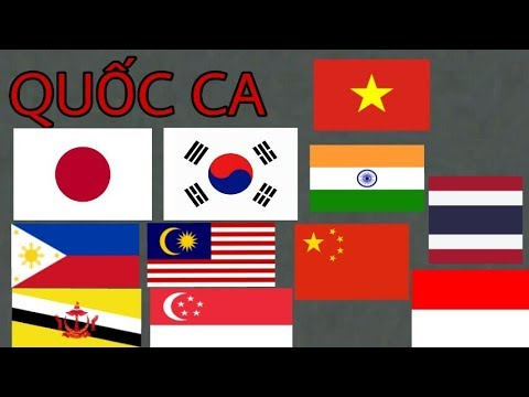 Quốc ca của các nước | National anthems of the countries | P1