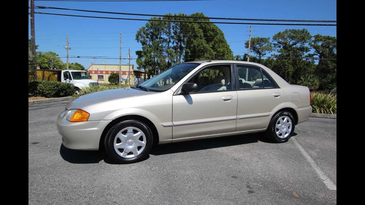 Superb SOLD 2000 Mazda Protege LX 81K Miles One Owner Meticulous Motors Inc  Florida For Sale