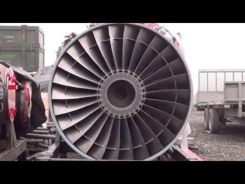 Cold War Relics-Rolls Royce Pegasus Turbofan Engine
